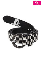 REELL Womens Checkered Belt white/black