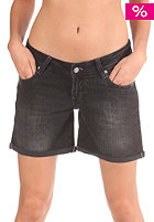 REELL Womens Denim Short black denim