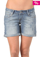 REELL Womens Denim Short marble light blue