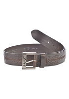 REPLAY Belt dk brown wood