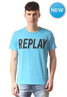 REPLAY Logo S/S T-Shirt light cyan