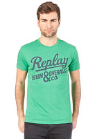 REPLAY S/S T-Shirt bright green