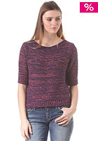 REPLAY Womens Knit Sweat blue-fucsia fluo