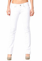 REPLAY Womens Rearmy Slim Bootcut Jeans Pant white denim