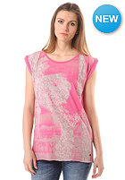 REPLAY Womens S/S T-Shirt brightly pink