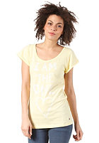 REPLAY Womens S/S T-Shirt pale yellow