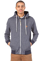 REVOLUTION BAU Hooded Zip Sweat navy
