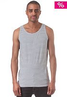 REVOLUTION Striped Tank Top petrol