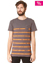 RHYTHM Acid Stripe S/S T-Shirt black