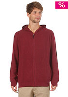 RHYTHM Boxer Hooded Zip Sweat Plum