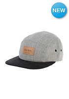 RHYTHM Caviar 5 Panel Cap grey marle