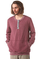 RHYTHM Gypsy Crew Knit Sweat wine