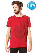 RHYTHM Lost S/S T-Shirt dusted red