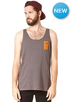 RHYTHM My Singlet S/S T-Shirt charcoal