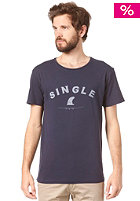 RHYTHM Single S/S T-Shirt navy