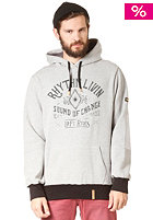RHYTHM Trader Hooded Sweat grey marle
