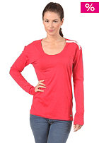 RHYTHM Womens Long Loose L/S T-Shirt red