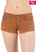 RHYTHM Womens Patch Shorts coffee