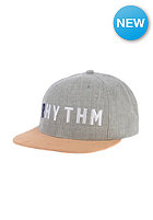 RHYTHM Woodlands Snapback Cap grey marle