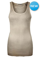 RICH&ROYAL Womens New Vintage Crew Tank Top sand