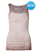 RICH&ROYAL Womens New Vintage Crew Tank Top sparrow