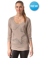 RICH&ROYAL Womens Queens Longsleeve taupe