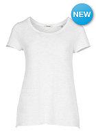 RICH&ROYAL Womens Slub S/S T-Shirt pearl white