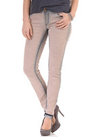 RICH&ROYAL Womens Super Skinny Bleach Leather Jeans dirty rose