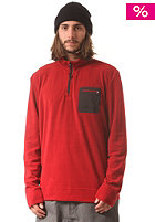 RIP CURL 37.5 Micro Fleece red dahlia