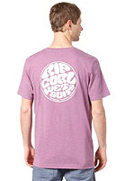 RIP CURL Classic Stamp S/S T-Shirt wood violet mar