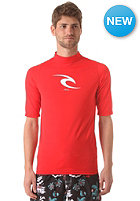 RIP CURL Comp Rash V S/S Lycra red