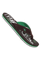 RIP CURL Coolang Sandals chocolate/green
