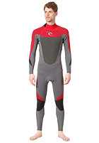 RIP CURL Dawn Patrol 3/2 Back Zip charcoal/red