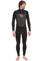 RIP CURL WETSUITS Dawn Patrol 3/2 GB B/Zip black/charcoal