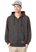 RIP CURL Dawn Patrol Stripe Hooded Zip Sweat black