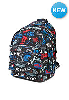 RIP CURL Double Dome Lettring black