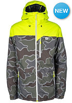 RIP CURL Enigma Printed Snow Jacket safety yellow