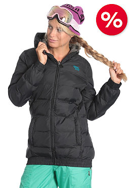 RIP CURL Eskimo Puffer Jacket moonless black