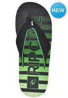 RIP CURL Folsom Sandals black/green