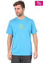 RIP CURL Icon Sonar S/S T-Shirt 2012 dresden blue