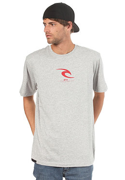 RIP CURL Icon S/S T-Shirt cement marle