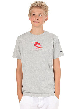 RIP CURL KIDS/ Boys Icon S/S T-Shirt cement marle