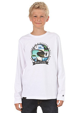 RIP CURL KIDS/ Boys The Cold Search L/S T-Shirt optical white