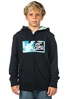 RIP CURL Kids Brash Applique Hooded Zip Sweat black