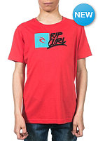 RIP CURL Kids Brash Youth S/S T-Shirt poinsettia red