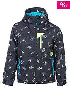 RIP CURL Kids Enigma Printed Snowboard Jacket jet black