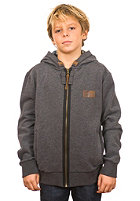 RIP CURL Kids Muted Hooded Zip Fleece black marled