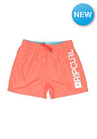 RIP CURL Kids Shifter Volley Short hot coral