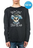 RIP CURL Kids Skull 2 Waves Longsleeve black