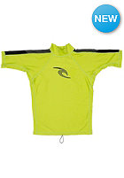 RIP CURL Kids Stripe Rash S/S lime